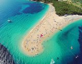 Brac island Golden horn beach