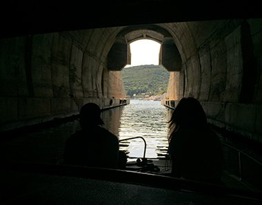 Navy tunnel on Vis island tour