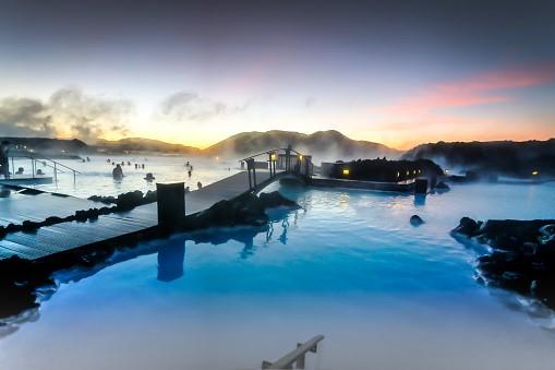 Blue Lagoon and salt boat tour